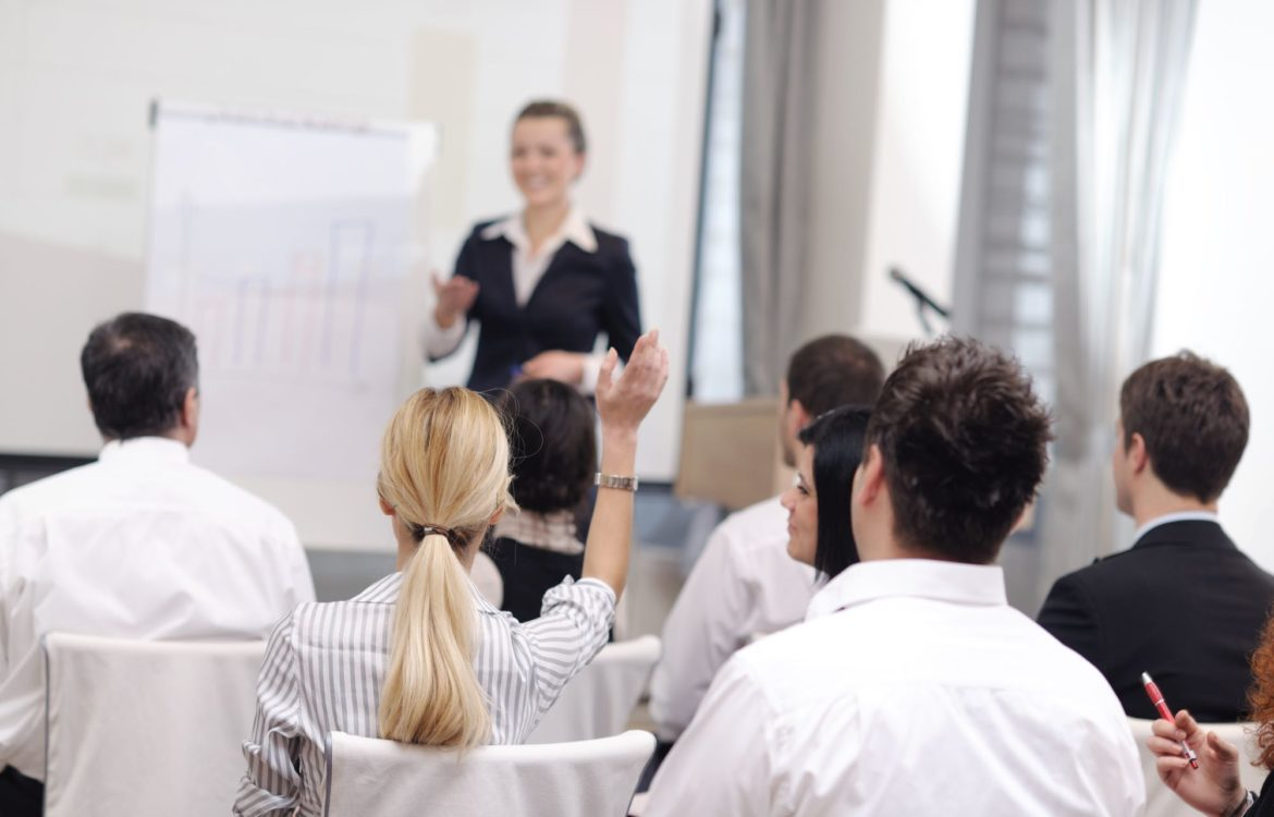 GLLC Chinese Corporate training by woman